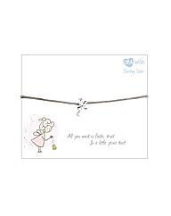 Sterling Silver Fairy Bracelet