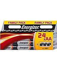 Energizer Family Pack AA Batteries - 24