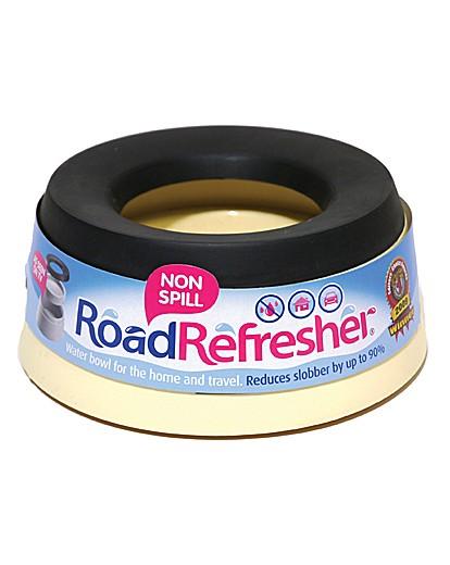 Road Refresher Non Spill Bowl Sml Cream