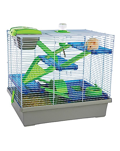 Rosewood Pico XL Hamster Home Silver