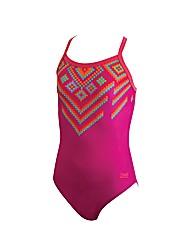 Zoggs Mosaic Madness Strikeback Swimsuit