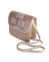 Sparkle Club Gold Glitter Bag