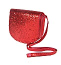 Sparkle Club Red Satchel Bag