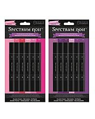 Spectrum Noir 12 Pen Set - Pink/Purple