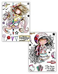 Tatty Twinkles A6 Stamp Set of 2 Life