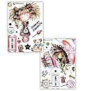 Tatty Twinkles A6 Stamp Set of 2 Wishing