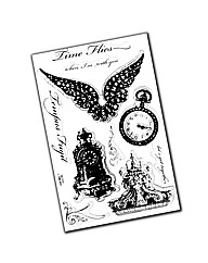 Stampendous Stamp Sets - Time Flies