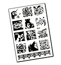 Stampendous Stamp Set - Fantasy Tiles -