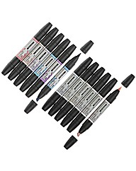 Multibuy Letraset Flexmarkers Set 1 & 3