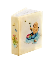 Classic Pooh Pooh in Umbrella Money Bank