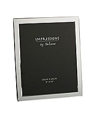 Silverplate Photo Frame Flat Edge 8 x 10