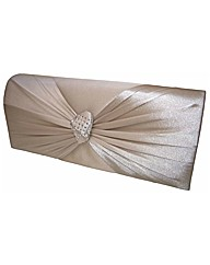 VT Collection Satin Clutch Bag