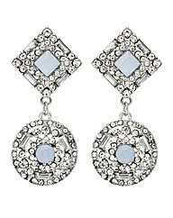 Mood Crystal Round Drop Earring