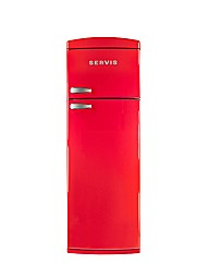 Servis Chilli Red Tall Fridge Freezer