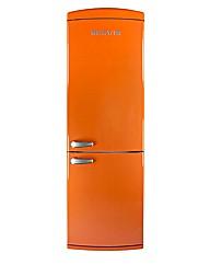 Servis Tangerine Combi Fridge Freezer