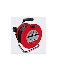 Masterplug 4 Socket Cable Reel - 30m