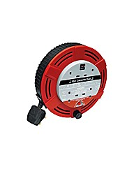 Masterplug 4 Socket Cable Reel - 10m