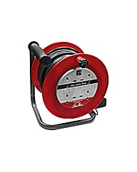 Masterplug 4 Socket Cable Reel - 20m