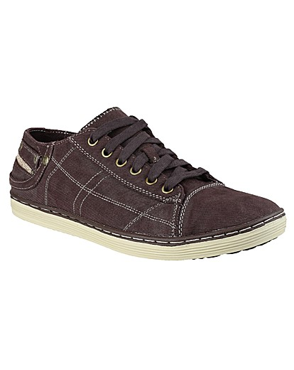 Skechers Sorino Berg Canvas Lace Up.