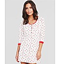 Ditsy Jersey Nightdress