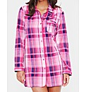 Pink Check Nightshirt