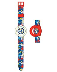 Fireman Sam Time Teacher Analogue Watch