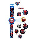 Spiderman Projection LCD Watch