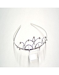 Silver Coloured Tiara