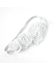 White Flower Headwrap