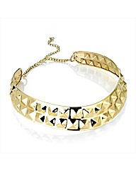 Gold Coloured Stud Collar