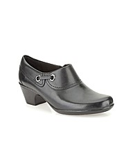 Clarks Womens Genette Danby Wide Fit