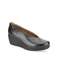 Clarks Womens Claribel Flare Wide Fit