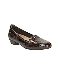 Clarks Womens Caswell Time Standard Fit
