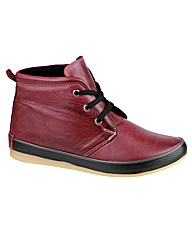 Edge Boot Womens Lace Up Ankle Boot