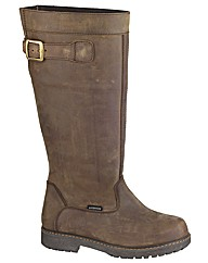 York Womens Leather Country Boot