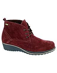 Prinknash Ladies Suede Ankle Boots