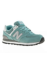 New Balance 574 Suede & Mesh