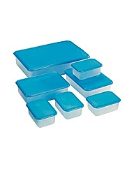 7 Piece Plastic Food Storage Set