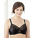 Elegance Satin and Lace Wonderwire Bra