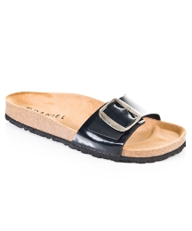 Daniel Safari Black Sandal