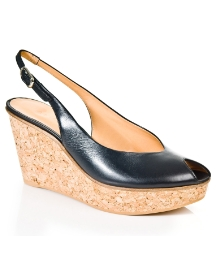 Daniel Zappy Black Wedge