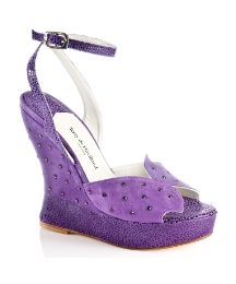 Terry De Havilland Stella C Purple Wedge