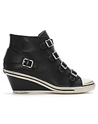 Ash Genial Black Wedge