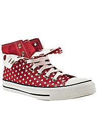 Converse As Two Fold Hi Ii Polkadot