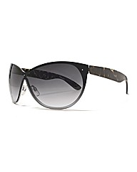 Viva La Diva Cateye Visor Sunglasses