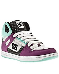 Dc Shoes Rebound Hi Iv Polka Dots