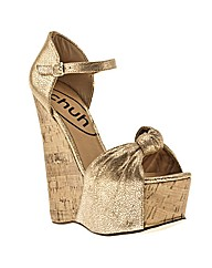 Schuh Lexie Knot Bar Wedge Cracked