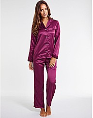 Satin PJ Set
