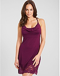 Eliza Lace Drape Hidden Support Chemise