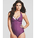 Rose Underwired Halter Swimsuit